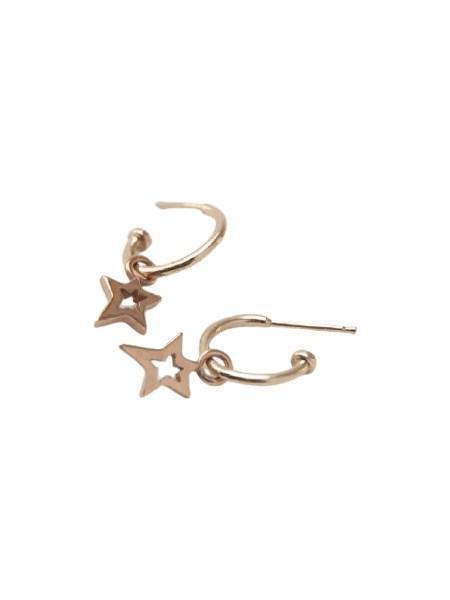star shaped earrings