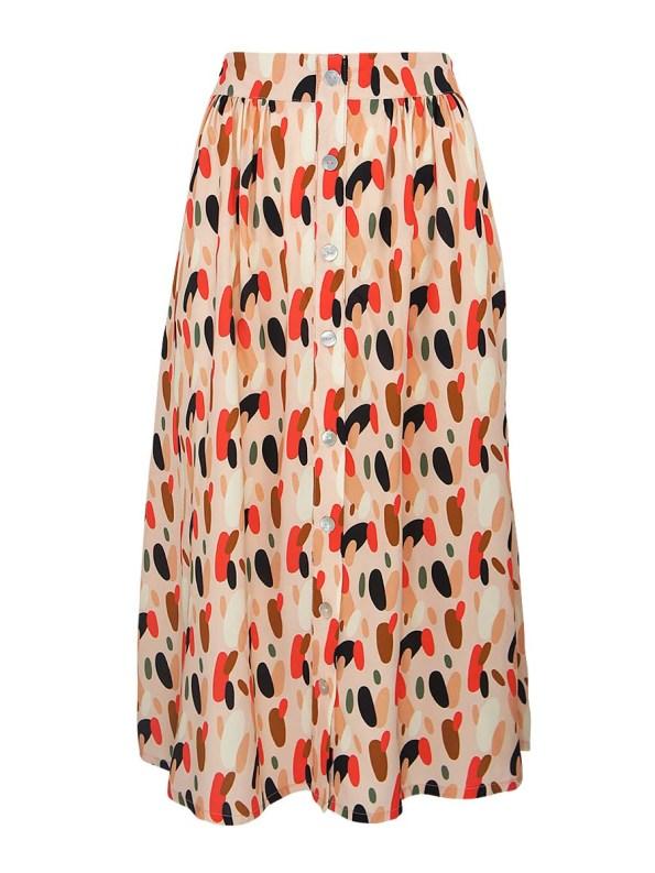 Good HW Skirt Pink Dots