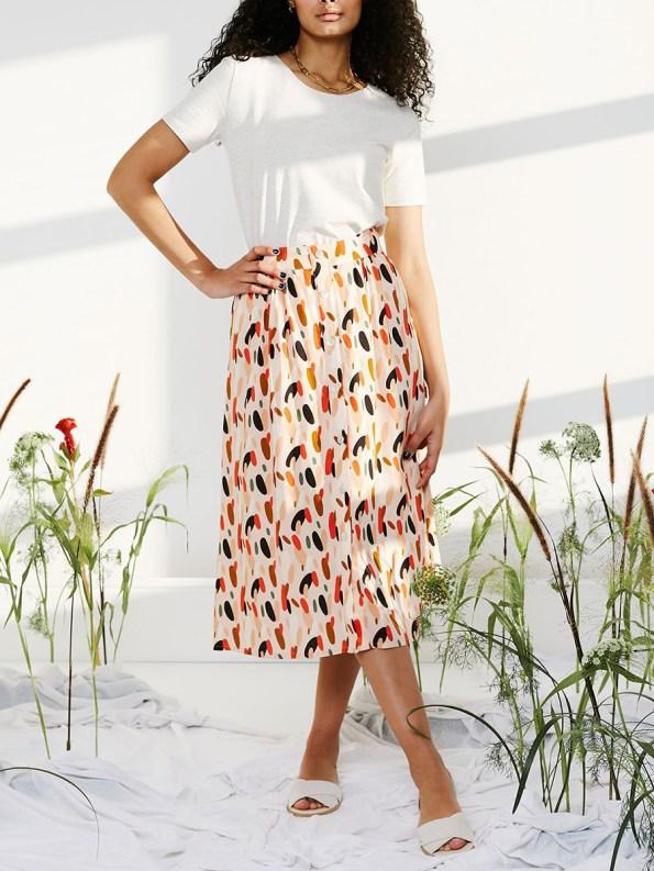 Good HW Skirt pink dot 1