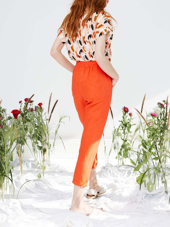 Good Marble Top and Ashley Pants Tangerine 3