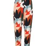 Multi-coloured pants women's