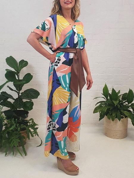 multi-colour jumpsuit