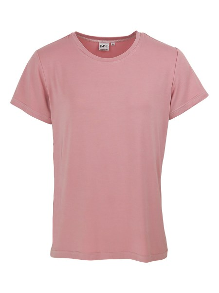 pink stretch T-shirt