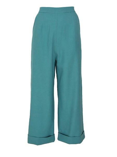 green linen pants womens