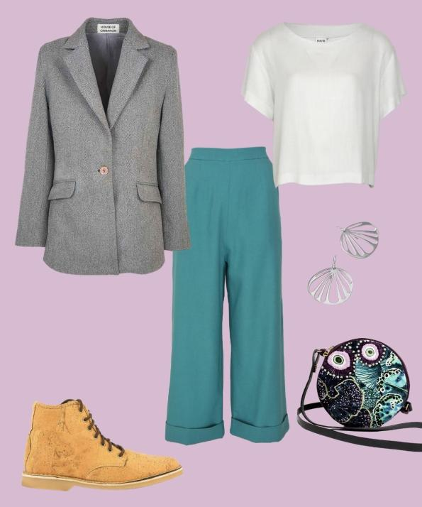 chunky boots outfits for spring