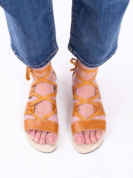 gladiator sandals tan