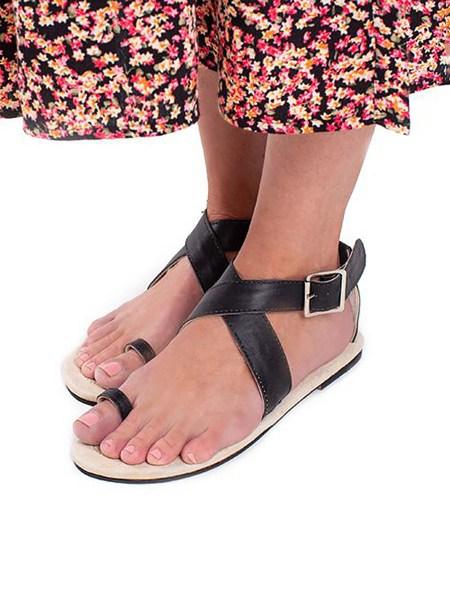 black toe loop sandals South Africa