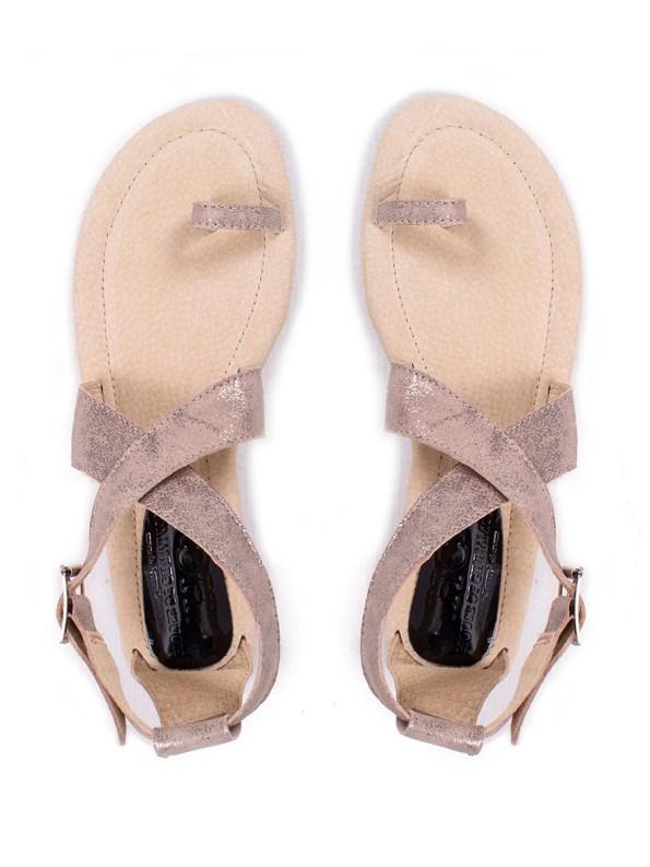 HOC Simone Sandals Gold 1