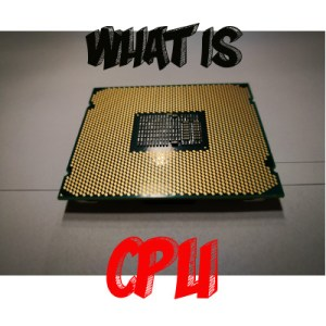 Example of Hardware - What is CPU for icon