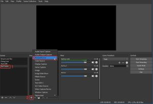 Example of Stream Alerts from Twitch - how to use OBS Software - OBS Create Scene 1