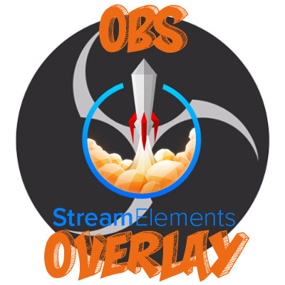 Example of OBS Overlay Twitch Overlay Logo