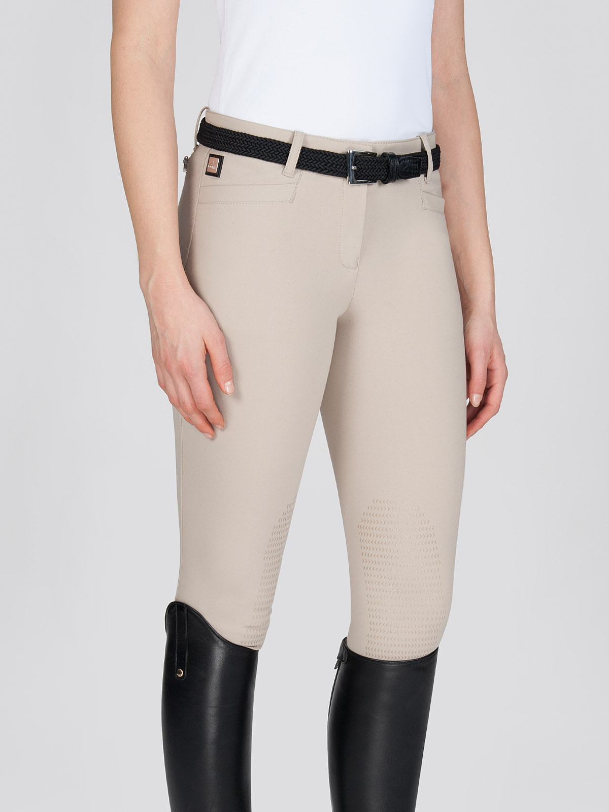 ASH Women's Riding Breeches with X-Grip Knee Patch 2