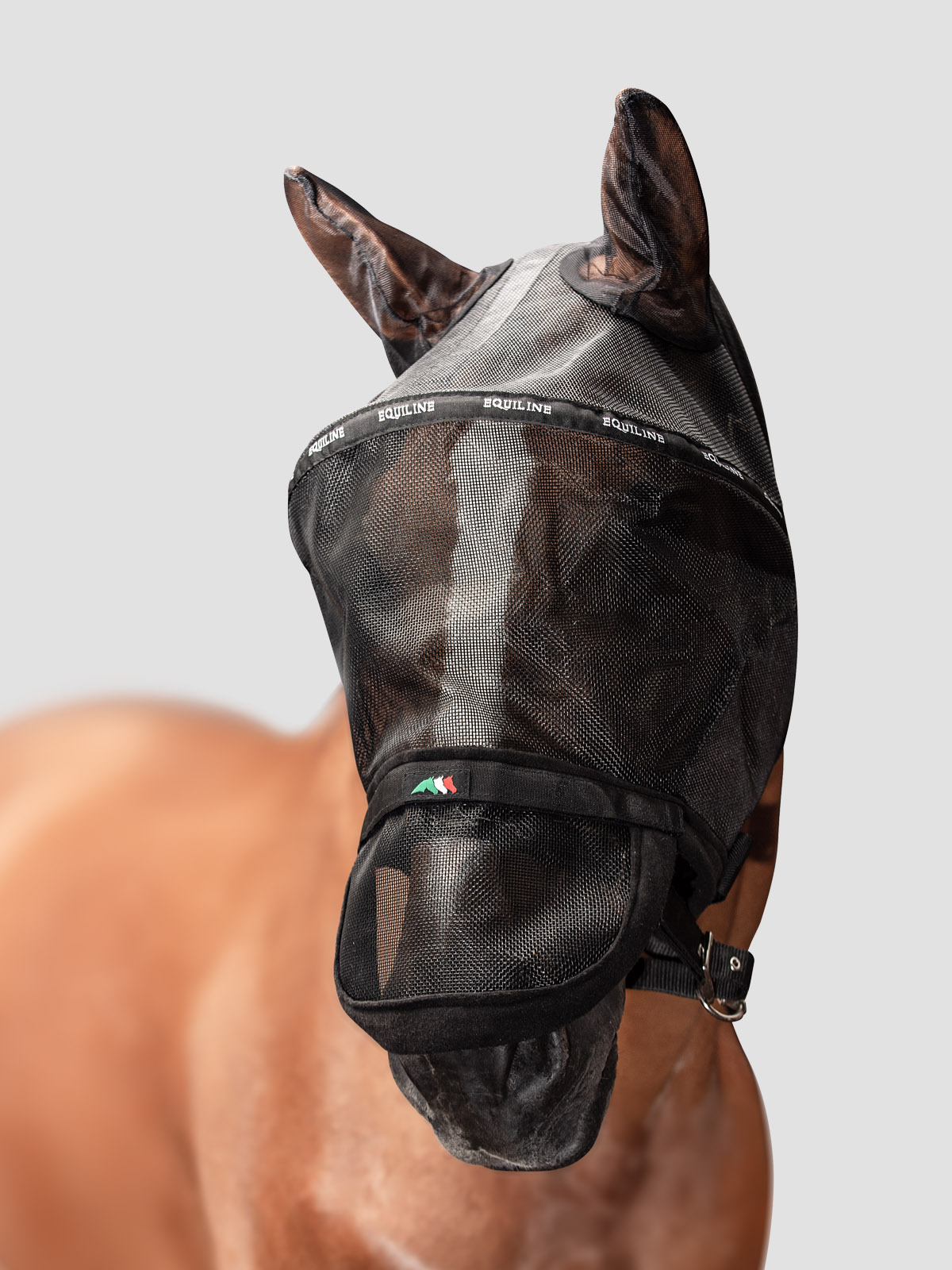 BENSON - Full Face Fly Mask (with ears and detachable Nose) 1