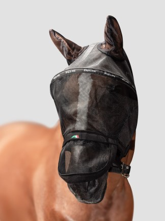 BENSON - Full Face Fly Mask (with ears and detachable Nose)