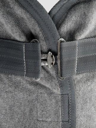 Equiline Hugo anti-pilling fleece horse cooler in grey