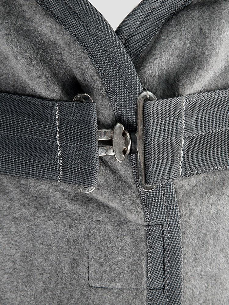 HUGO - Fleece Cooler with Inner Cross-Surcingles 1