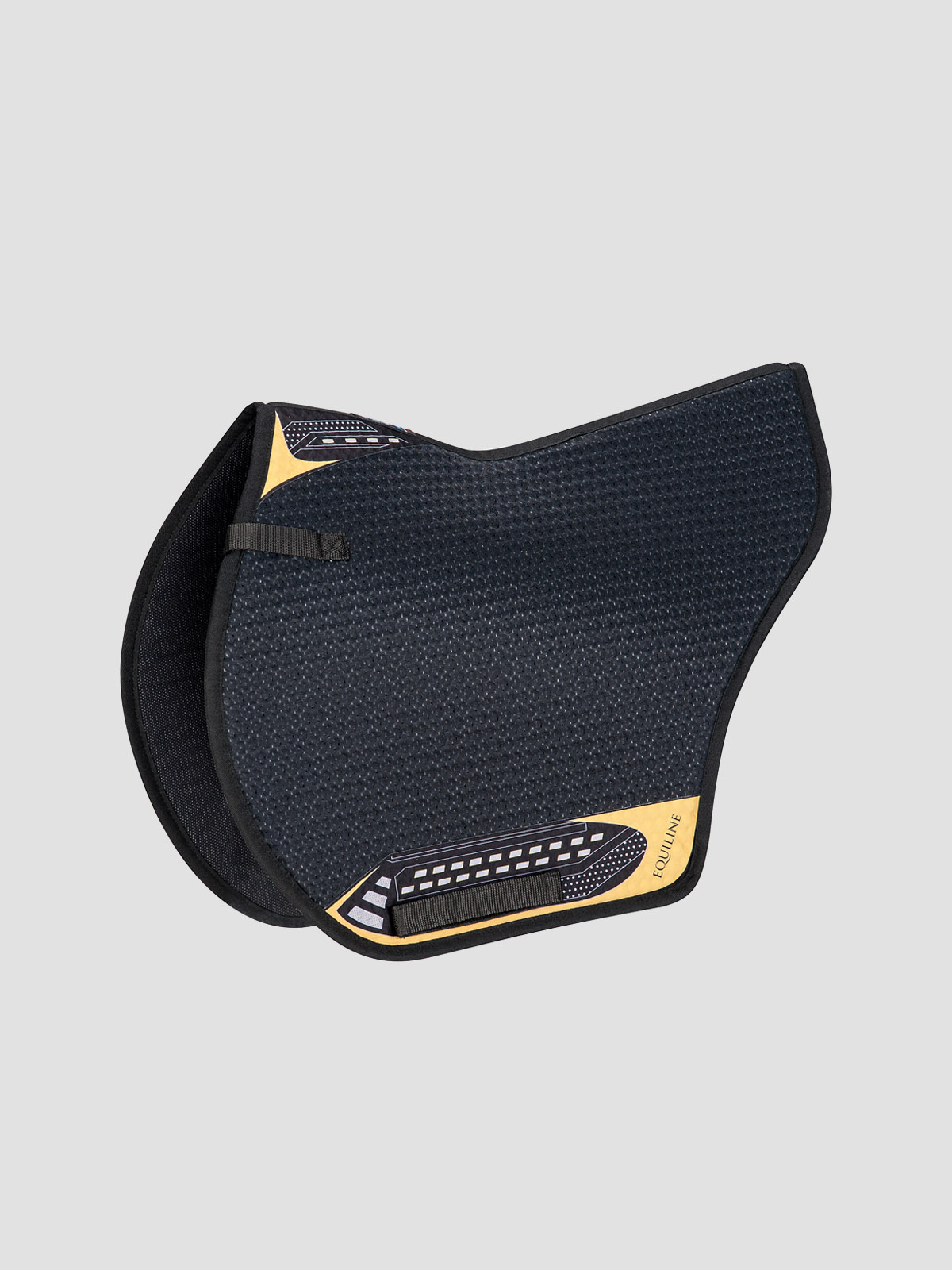 Equiline Norton techno air saddle pad in black
