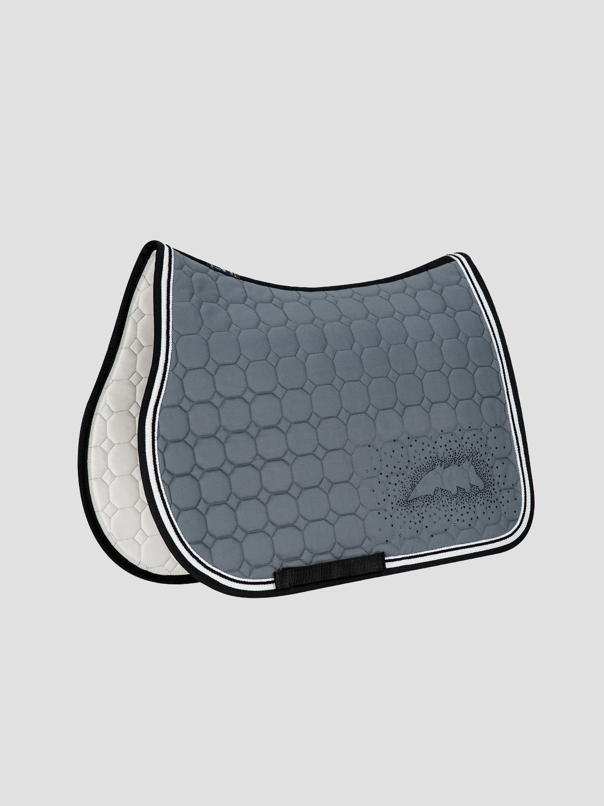 JOYCE - Octagon Saddle Pad with Equiline Logo and Studs 4