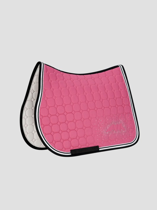 JOYCE - Octagon Saddle Pad with Equiline Logo and Studs 6