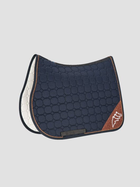 NADIR - Octagon Saddle Pad with Contrast Equiline Logo 3