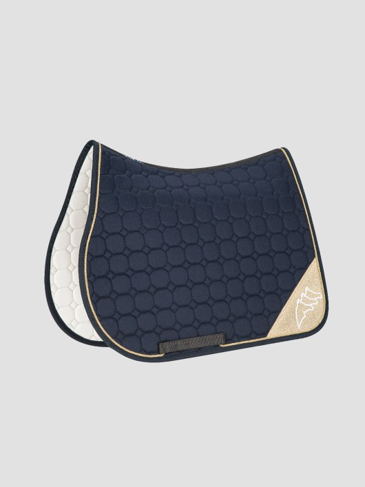 NADIR - Octagon Saddle Pad with Contrast Equiline Logo 4