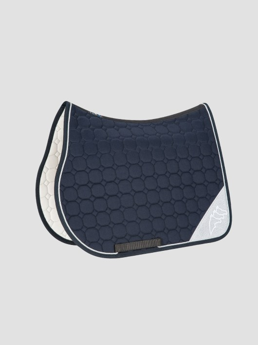 NADIR - Octagon Saddle Pad with Contrast Equiline Logo 5
