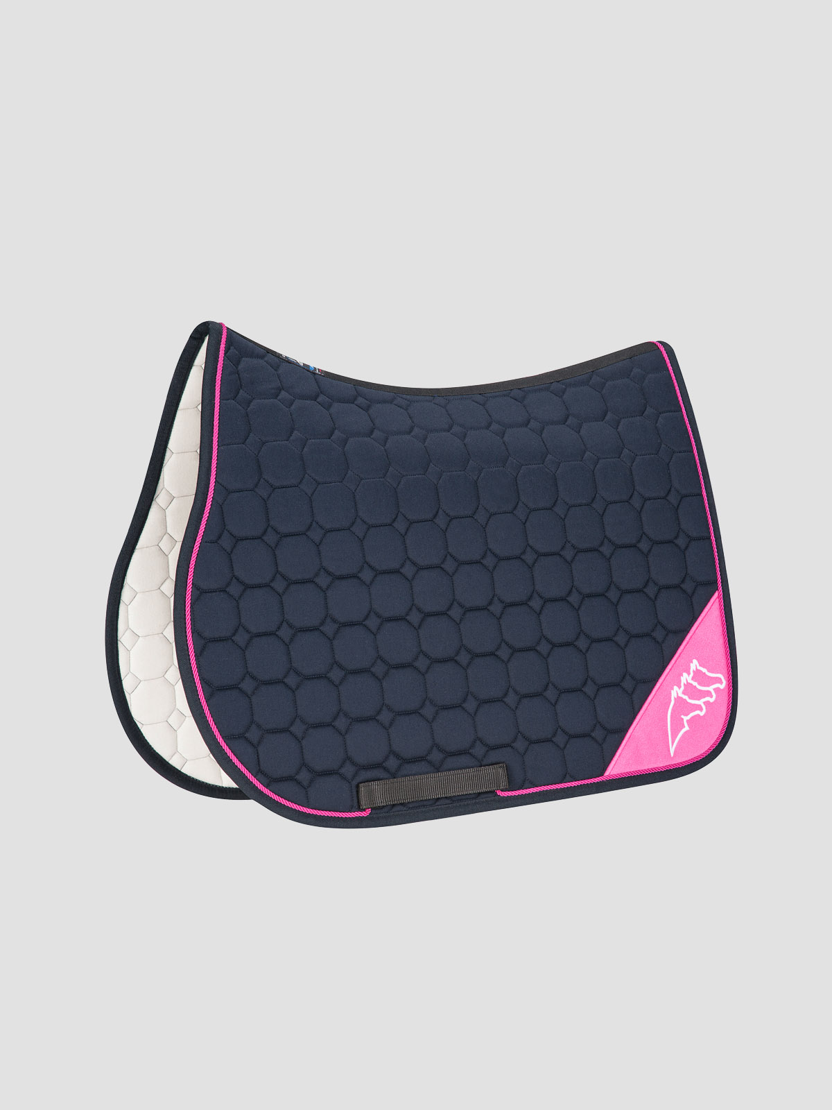 NADIR - Octagon Saddle Pad with Contrast Equiline Logo 7
