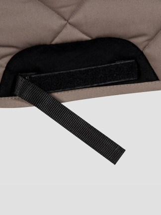 Equiline Lauren rombo saddle pad with wither free shape