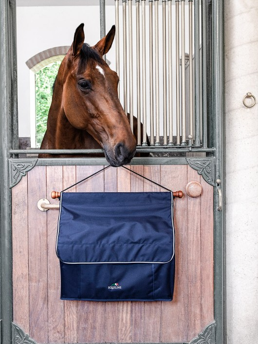 Equiline horse wrap holder and accessory holder
