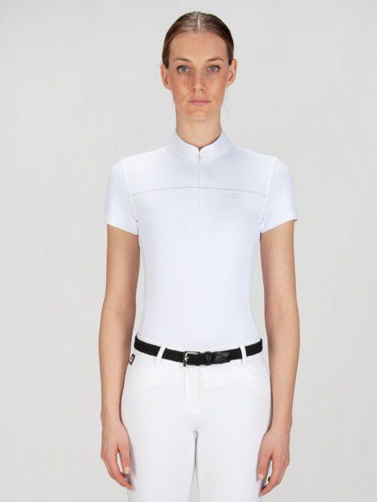 CATHERINE - Women's Show Shirt w/ Silver Detail 1