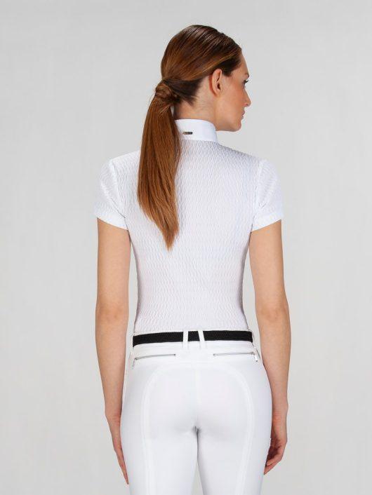 NEW ALISSA - Women's Show Shirt with Jewel 2