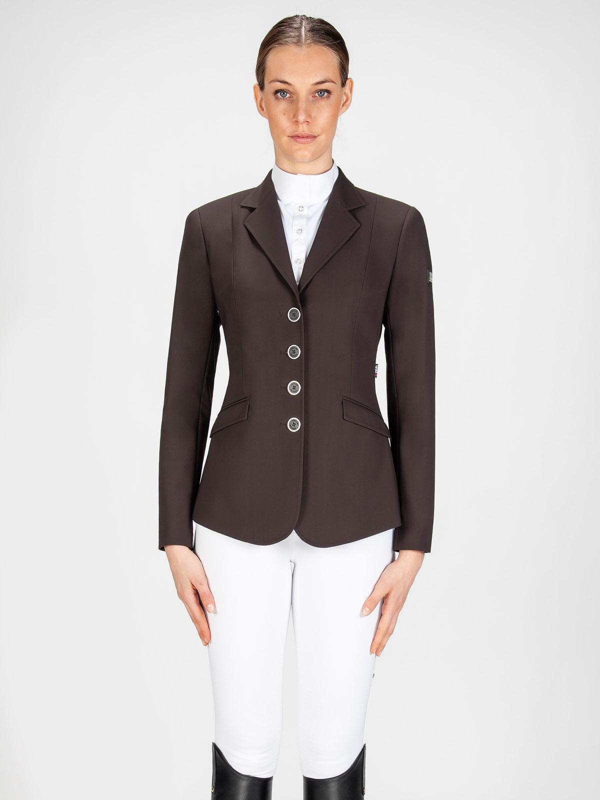 Gait women's show coat in X-Cool Evo performance fabric brown