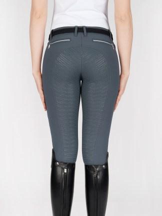 CEDAR women's riding breeches with full seat Grip in Grey