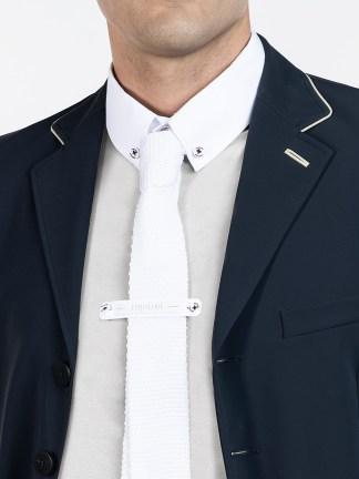 NEW SLIM TIE - Knit Cotton Slim Tie
