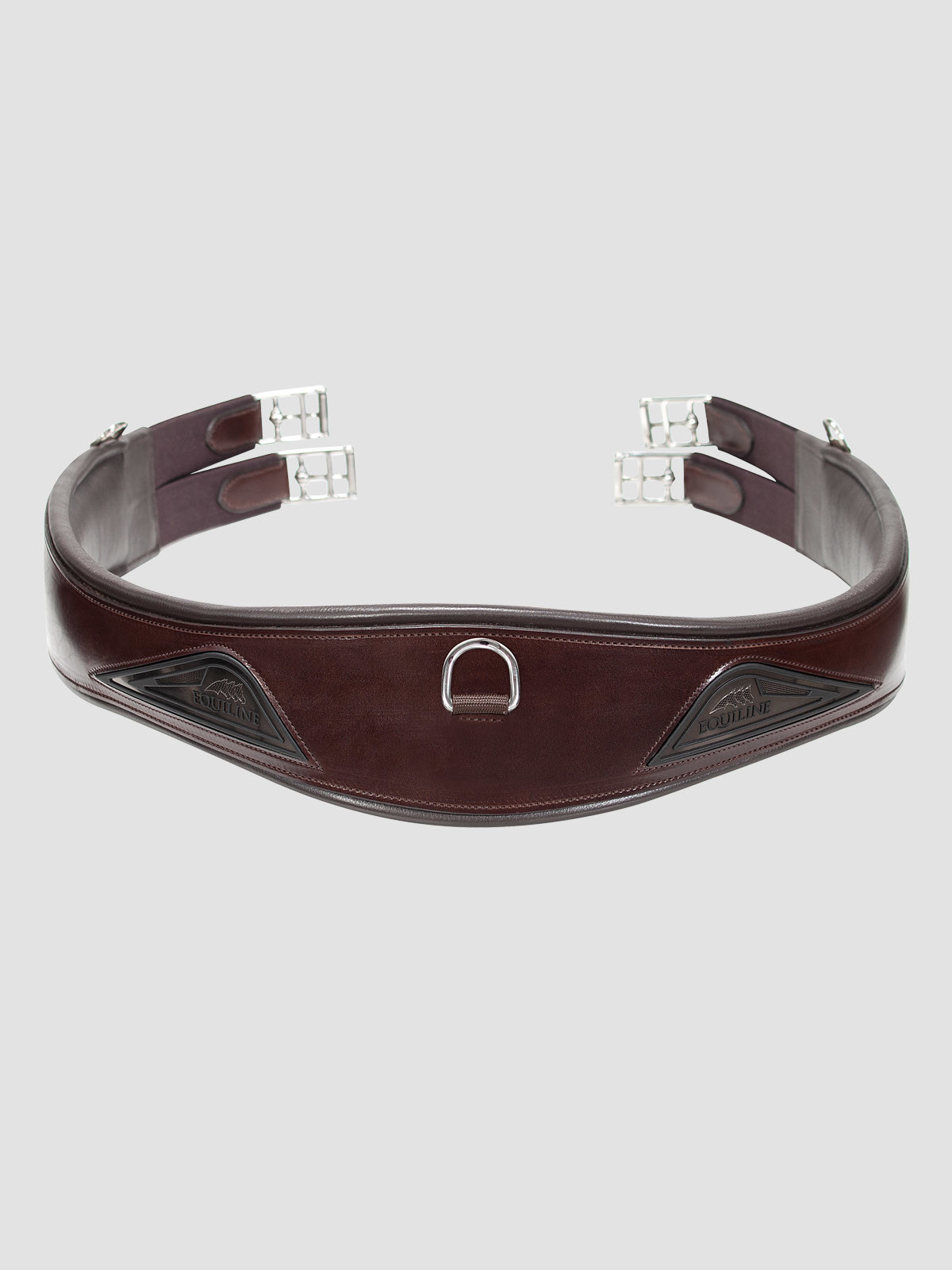 Brown Equiline leather girth