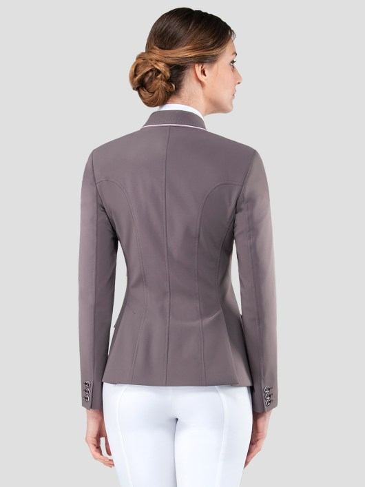 ELISSA WOMEN'S SHOW COAT IN X-COOL FABRIC WITH DOUBLE PIPING 3