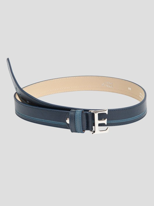 EROS LEATHER BELT WITH E BUCKLE 2