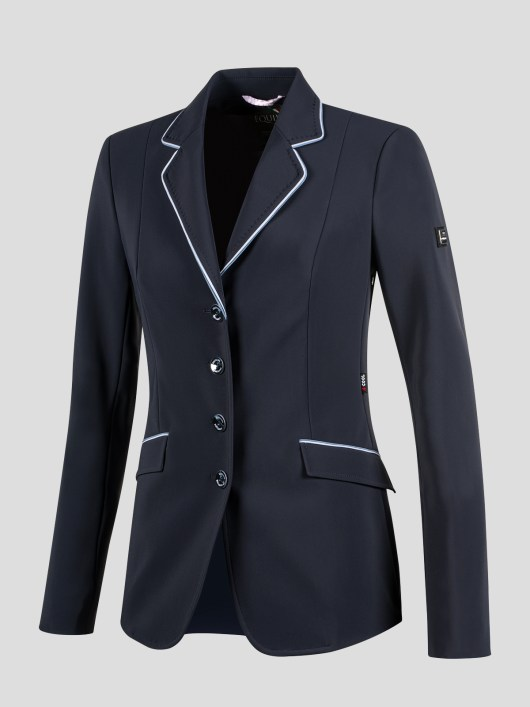 ELISSA WOMEN'S SHOW COAT IN X-COOL FABRIC WITH DOUBLE PIPING 6