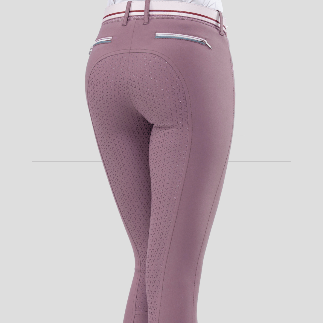 ESHA WOMEN'S FULL GRIP BREECHES WITH DOUBLE PIPING 6