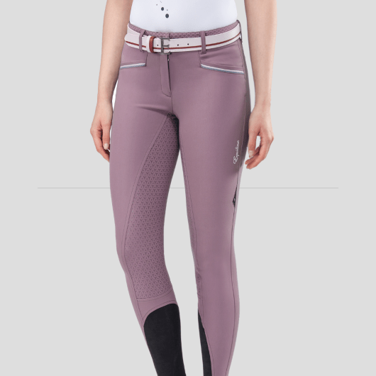ESHA WOMEN'S FULL GRIP BREECHES WITH DOUBLE PIPING 4