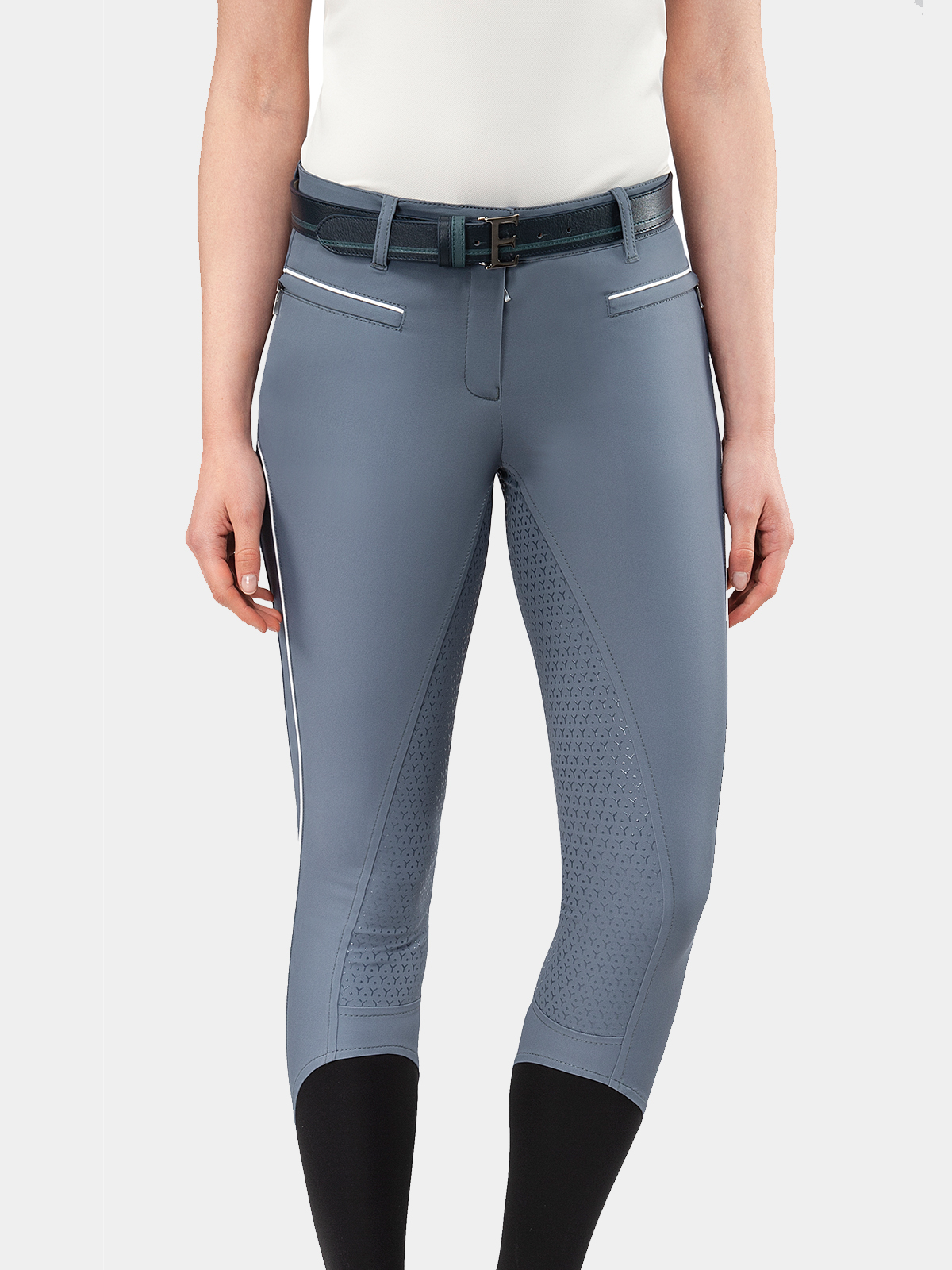 EILISE WOMEN'S FULL SEAT BREECHES WITH GRIP IN B-MOVE 1