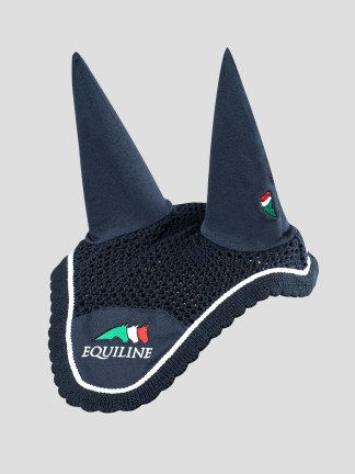 HORSE EAR BONNET WITH EQUILINE LOGO