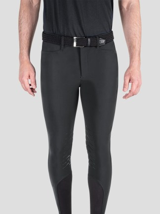 TEAM COLLECTION - MEN'S BREECHES WITH KNEE GRIP IN B-MOVE