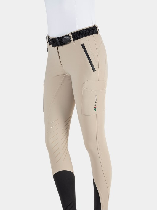 TEAM COLLECTION - WOMEN'S KNEE GRIP CARGO BREECHES IN B-MOVE #RIDERSTEAM 7