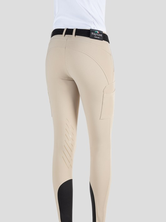 TEAM COLLECTION - WOMEN'S KNEE GRIP CARGO BREECHES IN B-MOVE #RIDERSTEAM 8