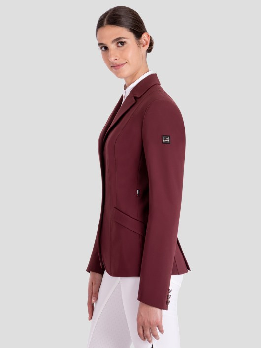 EVORA WOMEN'S X-COOL SHOW COAT WITH ENAMEL BUTTONS 3
