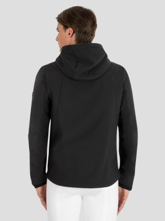 CHASKA MEN'S DUAL-TECH Hooded Training Jacket