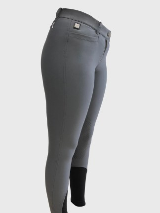 ASH Women's Riding Breeches with x-grip Knee Patch