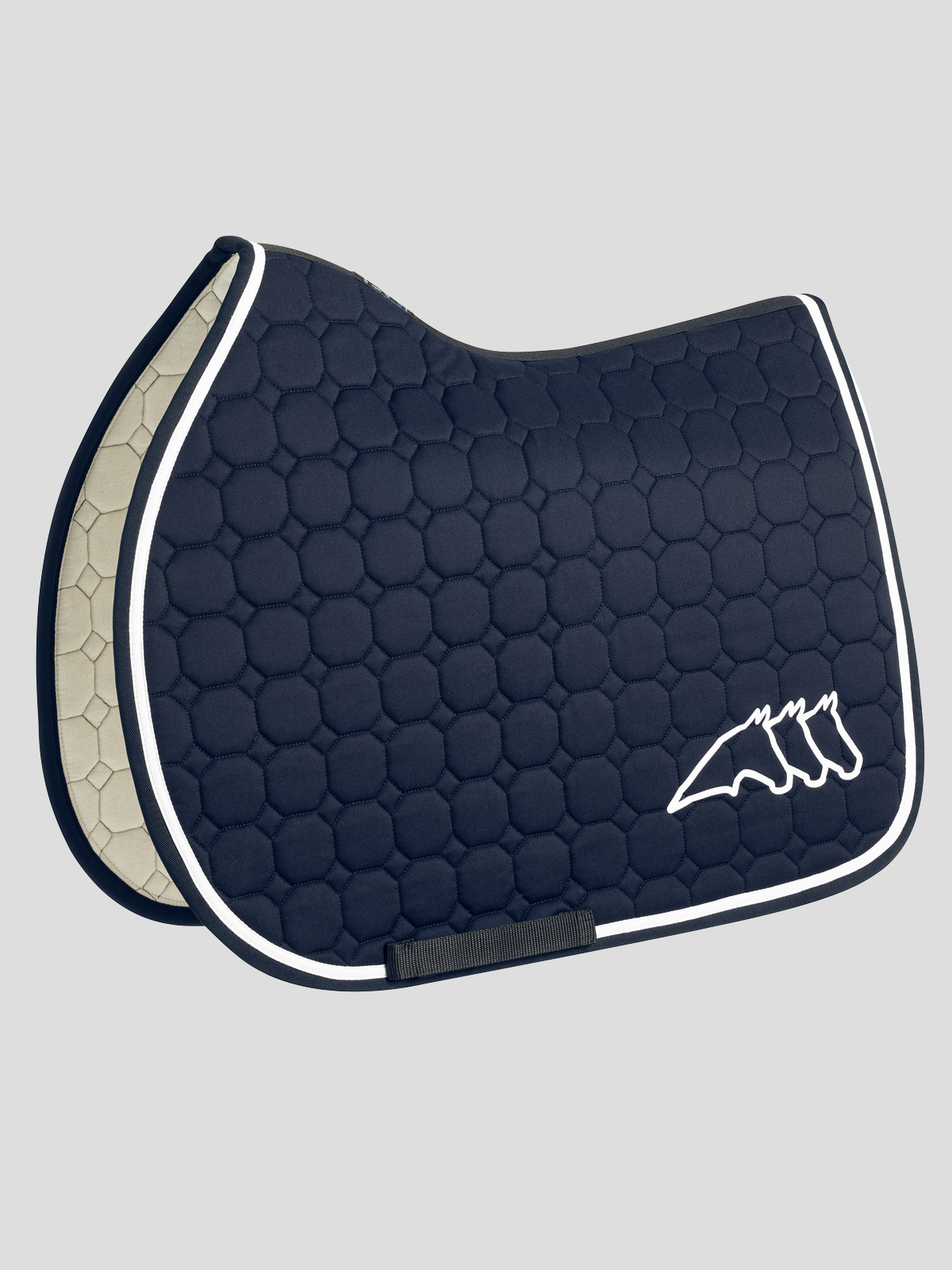 Cristophec OCTAGON QUILTED SADDLE PAD 1