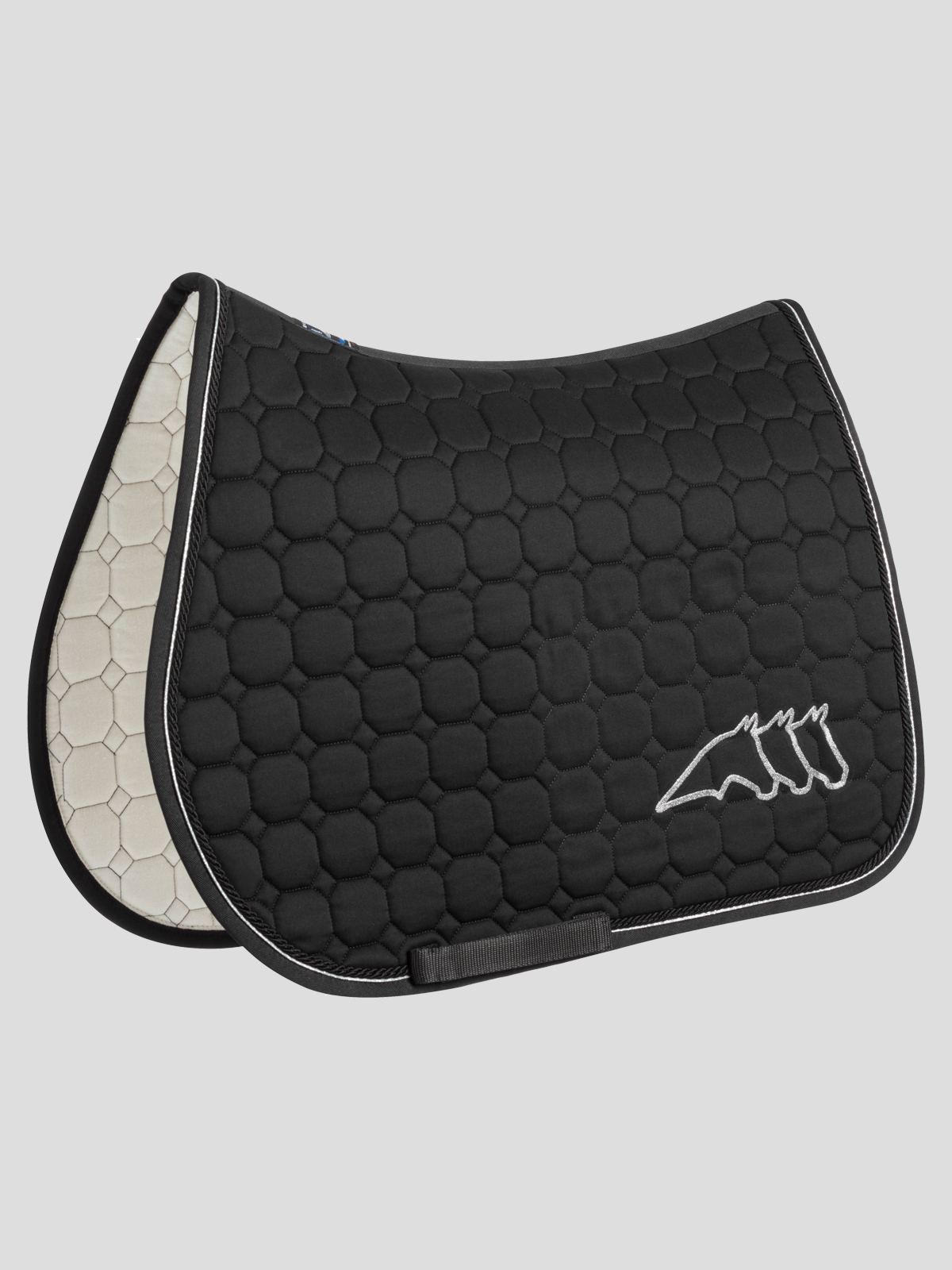 Galakg OCTAGON QUILTED SADDLE PAD 1